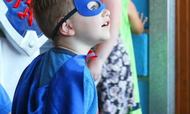 Superhero Days at Hands On Children's Museum